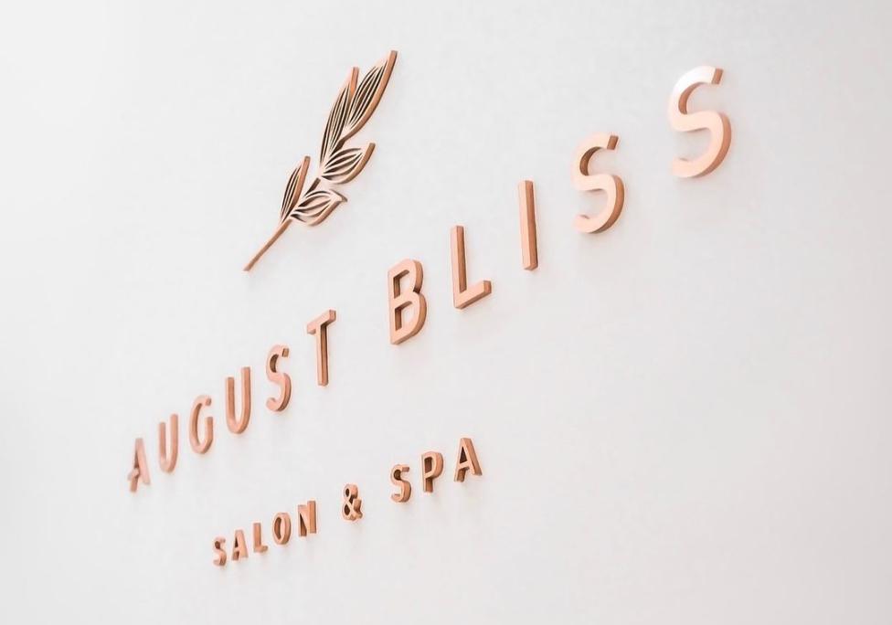 Purple Pixel Design Group - design agency - August Bliss logo design - graphic company