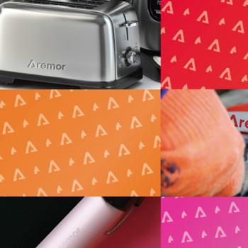 Purple Pixel Design Group - brand logo - Aremor branding - branding best