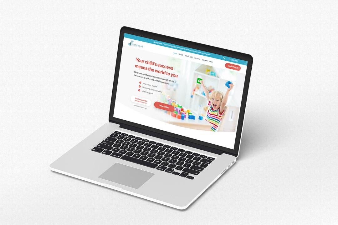Purple Pixel Design Group - ads for marketing - Mastermind Behavior website design - web design agency