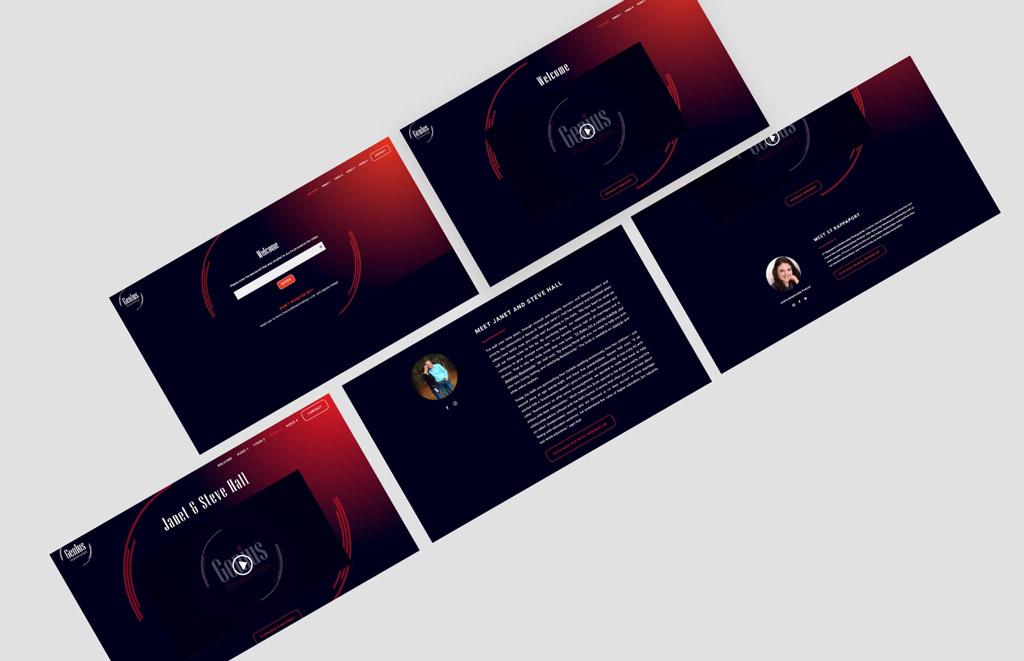 Purple Pixel Design Group - brand website - Genius Relationships website - web design agency