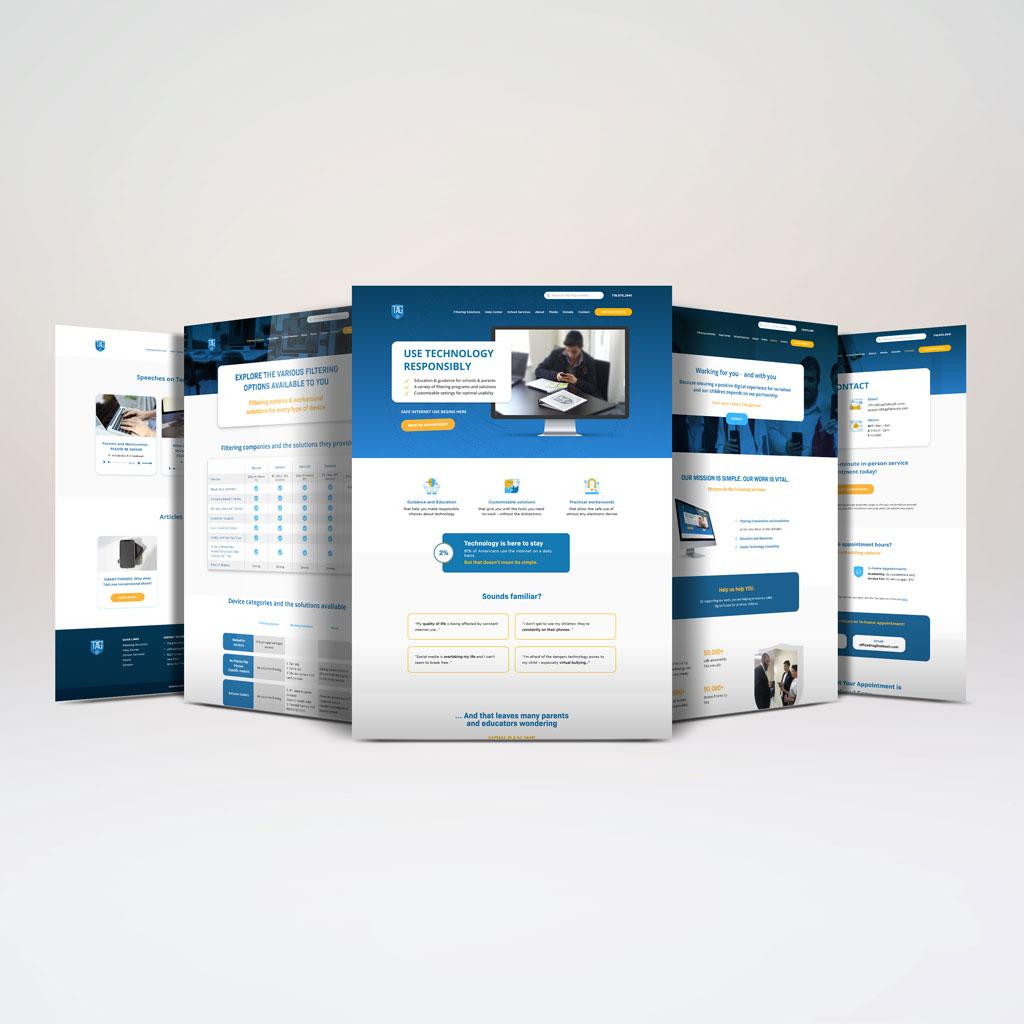 Purple Pixel Design Group - brand website - TAG Flatbush website - web design agency